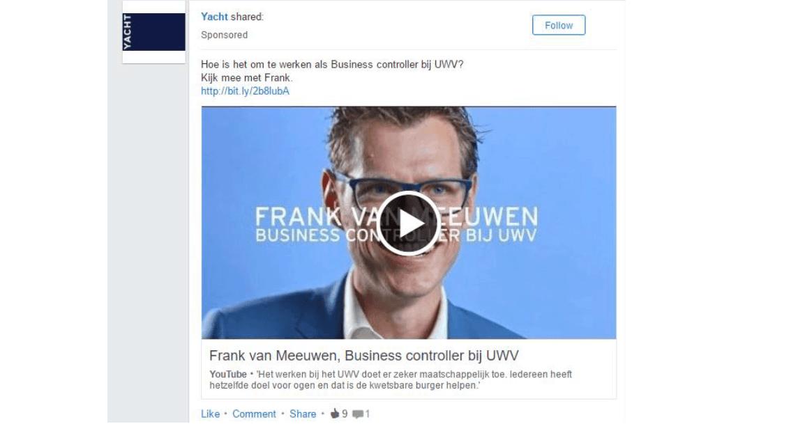 Video update plaatsen op LinkedIn