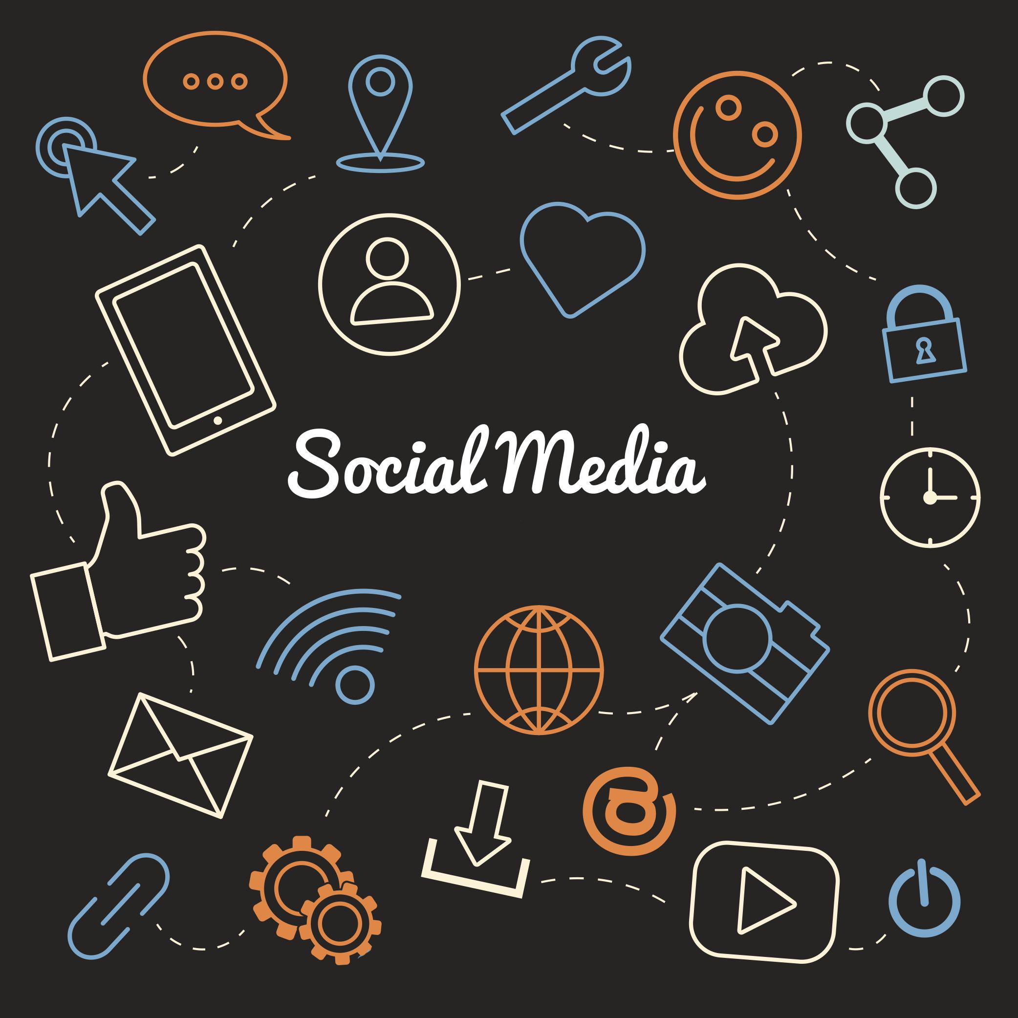 social media statistieken 2018