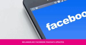 belangijke facebook pagina updates GetBright
